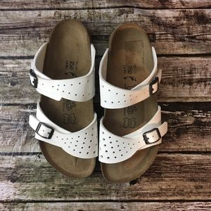 Birki's by Birkenstock Perforated Two Strap Sandal